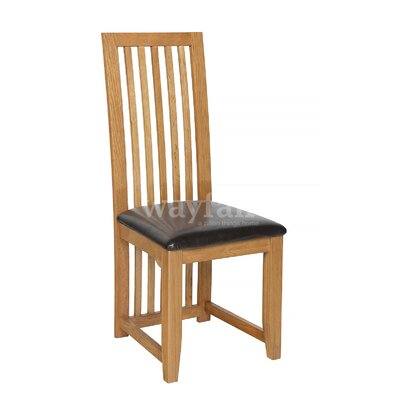 Homestead Living Inisraher Solid Oak Upholstered Dining Chair