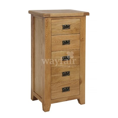 Homestead Living Inisraher 5 Drawer Chest of Drawers