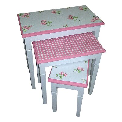Homestead Living Blayney Childrens 3 Piece Nesting Tables