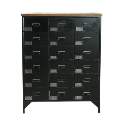 Homestead Living 18 Drawer Chest of Drawers