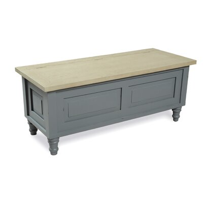 Homestead Living Wood Storage Bedroom Bench