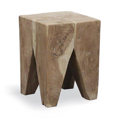 Homestead Living Wood Decorative Stool