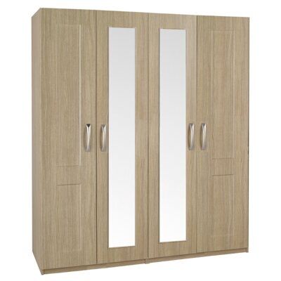 Homestead Living Staccato 4 Door Wardrobe