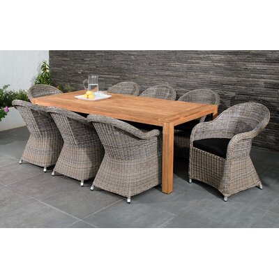 Homestead Living Regency 8 Seater Dining Set with Cushions
