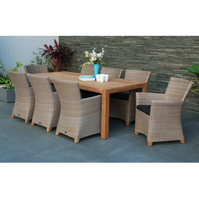 Homestead Living Victoria 8 Seater Dining Set with Cushions