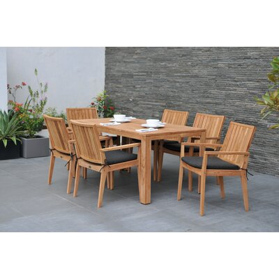 Homestead Living Wellington 6 Seater Dining Set with Cushions