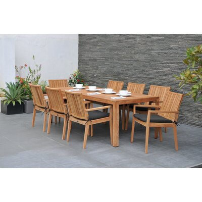 Homestead Living Wellington 8 Seater Dining Set with Cushions