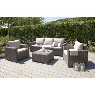 Homestead Living California 5 Seater Sofa Set with Cushions