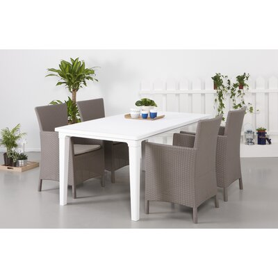 Homestead Living Oxford 4 Seater Dining Set with Cushions