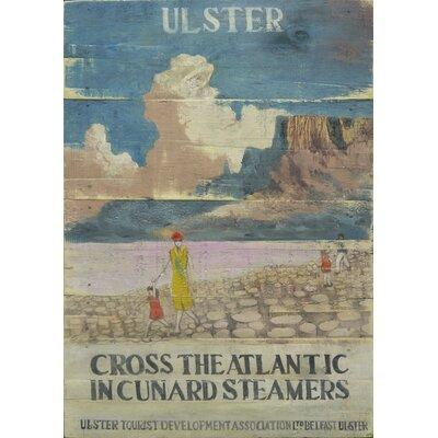 Homestead Living Cunard Steamers Ulster Advert Art Print Plaque
