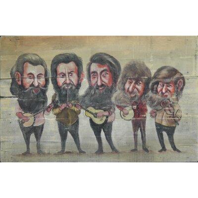Homestead Living Fiddle-Dee-Dee Original Painting Plaque