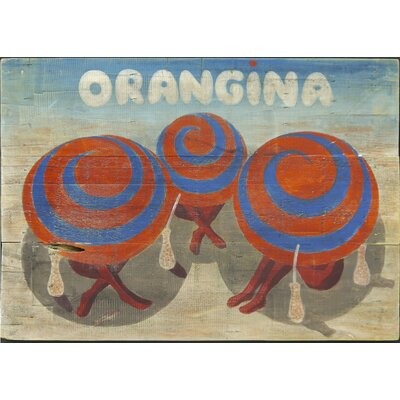 Homestead Living Orangina Original Painting Plaque