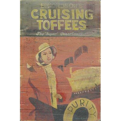 Homestead Living Cruising Toffees Original Painting Plaque