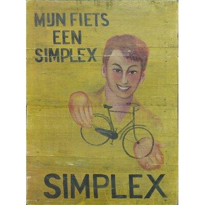 Homestead Living Simplex Original Painting Plaque