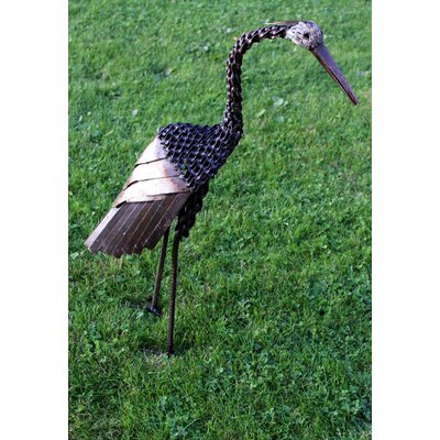 Homestead Living Small Twisted Heron Statue