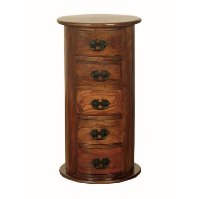 Homestead Living Aielli 5 Drawer Bedside Table