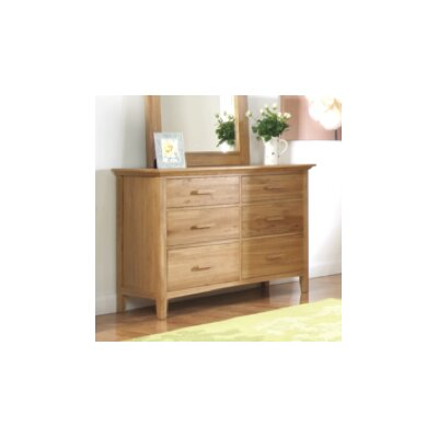 Homestead Living Katie 6 Drawer Chest of Drawers