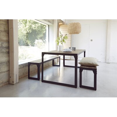 Homestead Living Turner Dining Table and 2 Benches
