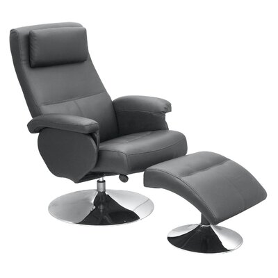 Homestead Living Hudson Recliner with Footstool