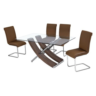Homestead Living Dining Table and 4 Chairs