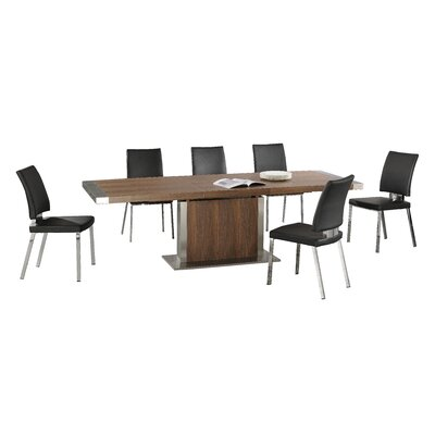 Homestead Living Killian Extendable Dining Table and 6 Chairs