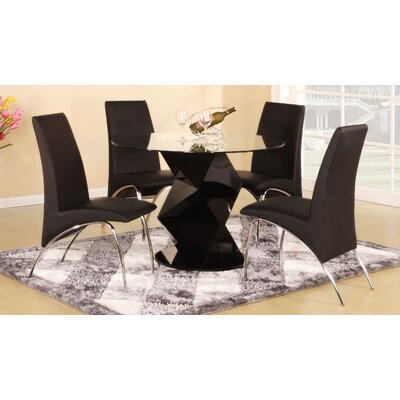 Homestead Living Harrison Dining Table and 4 Chairs