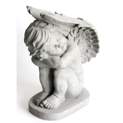 Homestead Living Left Angel Kneeling Statue