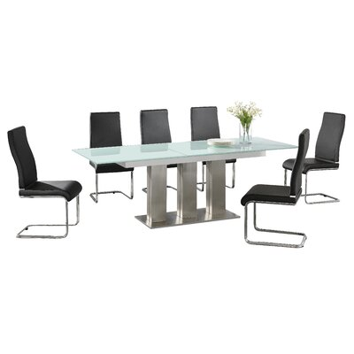 Homestead Living Lucille Extendable Dining Table and 6 Chairs