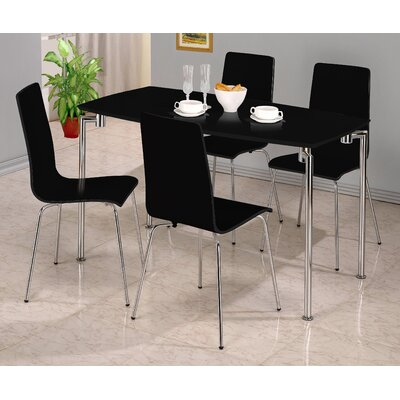Homestead Living Owen Dining Table and 4 Chairs