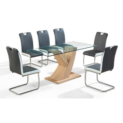 Homestead Living Chase Dining Table and 6 Chairs