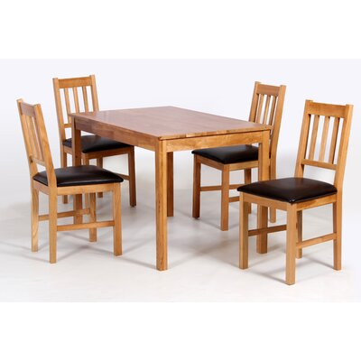 Homestead Living Hyde Dining Table and 4 Chairs