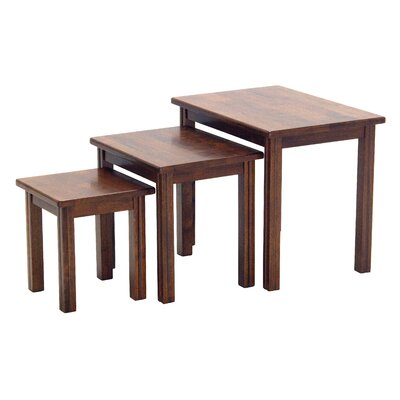 Homestead Living Ethan 3 Piece Nest of Tables