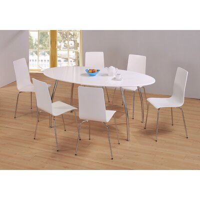 Homestead Living Owen Dining Table and 6 Chairs
