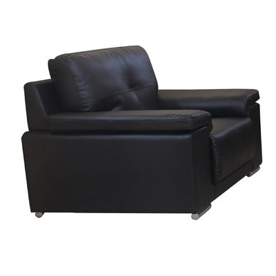 Homestead Living Samuel Bonded Leather Lounge Chair
