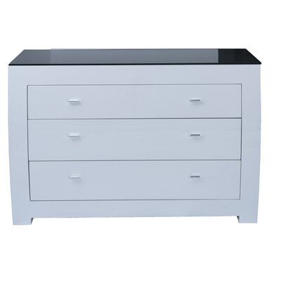 Homestead Living Newport 3 Drawer Chest of Drawers