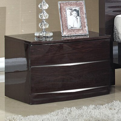 Homestead Living Brooker 2 Drawer Bedside Table