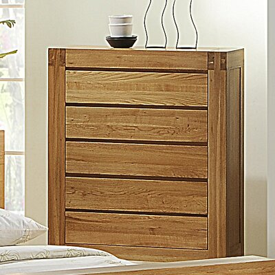 Homestead Living Liam 5 Drawer Chest of Drawers