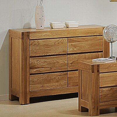 Homestead Living Liam 6 Drawer Chest of Drawers
