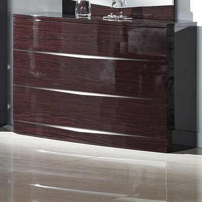 Homestead Living Brooker 3 Drawer Chest of Drawers