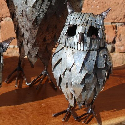Homestead Living Medium Owl Statue