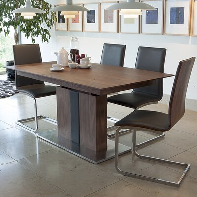 Homestead Living Rion ExtendableDining Table and 4 Chairs