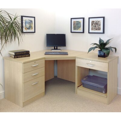 Homestead Living Walshaw Computer Desk with Filing Cabnet