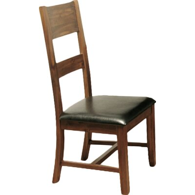 Homestead Living Mairena Solid Acacia Upholstered Dining Chair