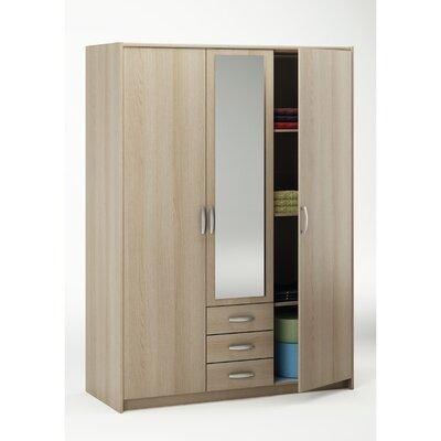 Homestead Living 3 Door with Mirror Wardobe