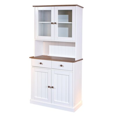 Homestead Living Solid Wood China Cabinet