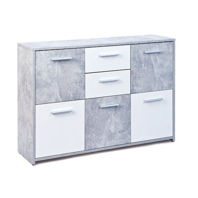 Homestead Living Flavius 5 Door 2 Drawer Chest of Drawers
