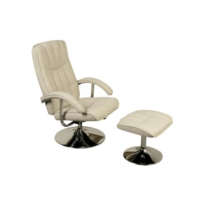 Homestead Living Recliner and Footstool