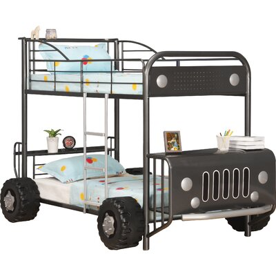 Homestead Living Judith Car Single Bunk Bed