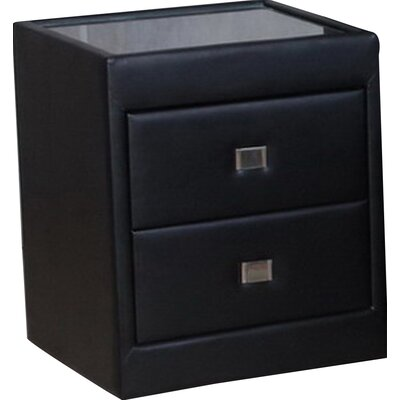 Homestead Living Reuben 2 Drawer Bedside Table