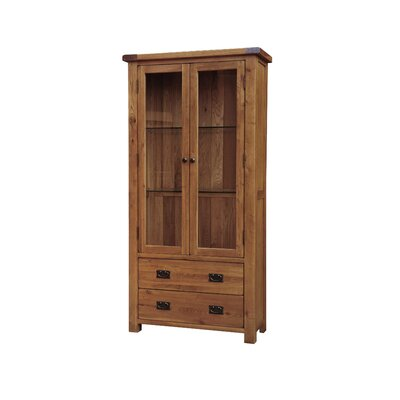 Homestead Living Rayleigh Solid Oak Display Cabinet